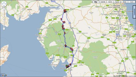 Day Seven: Route