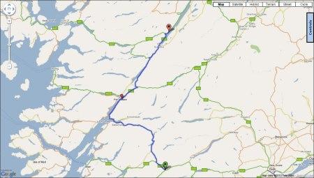 Day Ten: Route