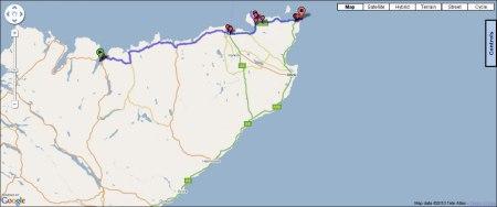 Day Twelve: Route